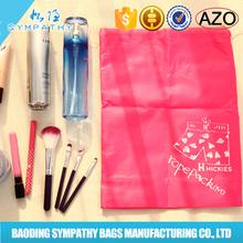 promotion wholesale fashion sports custom nylon polyester drawstring shoe bag