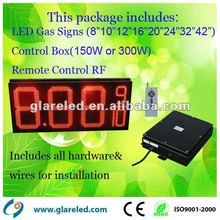 outdoor LED gas price 7segment sign