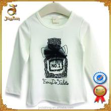 2015 Top fashion children summer clothing custom organic cotton t shirts