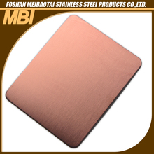 304 hairline stainless steel fireproof kitchen wall panel