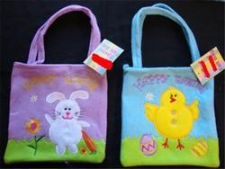 Felt Easter Bunny Bags & Chick Egg Hunt Bags