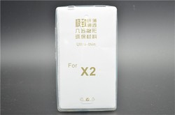 Ultra Thin 0.3mm Clear Soft TPU Back Cover Case For Nokia X2
