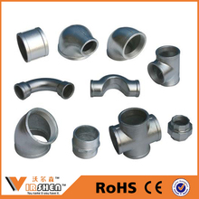 Malleable cast iron galvanized pipe fitting / pipe and fitting / iron pipe fittings chart / fitting pipe