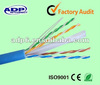ADP LAN Cable UTP 24awg copper 4pairs cat6 lan cable with manufacture price