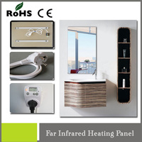 mirror type wall electric carbon heating system with heating film