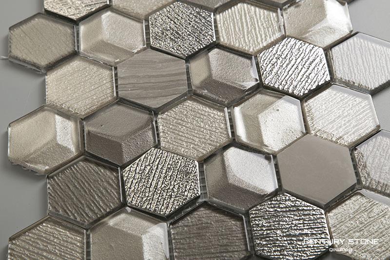 1 Octagon Shaped Floor Tiles