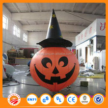 inflatable pumpkin/large plastic halloween pumpkin
