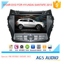 car dvd audio navigation system with toucch screen/mp3/gps for HYUNDAI SANTAFE 2013