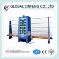 Jfd-20lb semi- macchina automatica sabbiatura/vetro macchina di elaborazione