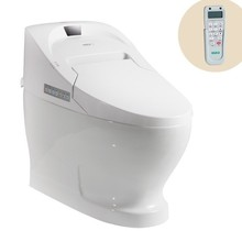 730B Auto operation sanitary ware ceramic toilets with built-in bidet