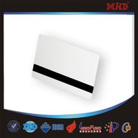 MDC0424 Blank hotel magnetic stripe smart key card/blank magnetic stripe cards