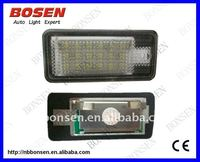 license plate led light for audi TDI with CE cerfificate