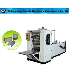 E fold four lines facial tissue making machine with PLC Control and pneumatic folding