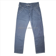 American New Style Blue fabric for men trousers