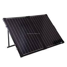 Folding solar panel kit 100w/12v, solar portable system+regulator