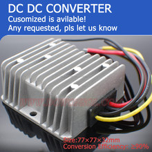 customized is available 57W 12v dc to 19v dc converter 3A