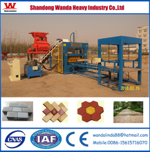 2015 Promotion! Wanda QT10-15P brick making production line with low investment