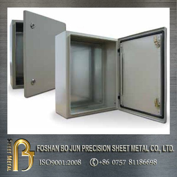 Sheet Metal Outdoor Junction Box With Lift Off Screw Cover