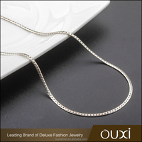 OUXI different types of jewelry necklace chains wholesale G40006-1/3