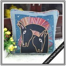 wholesale custom printing decorative pillow case backrest floor cushion