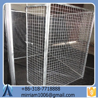 2015 Galvanized Wire Dog Kennels /Tube Dog Crate/Pet Cages/Kennels
