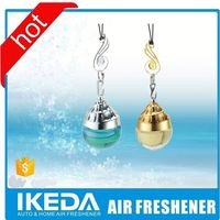 Promotional OEM printed poppy liquid car air freshener