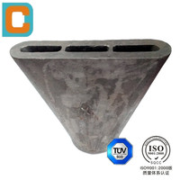 Stainess Steel Lost Wax Casting Nozzle for Cement Plant