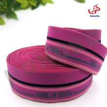 Young Ladies Underwear Pink Elastic Band Jacquard with WILD MAN logo