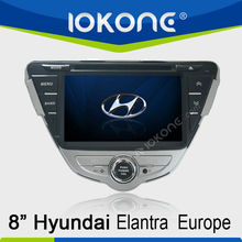 8'' HD Touch screen Car DVD player GPS navigation for Hyundai Elantra Europe 2011-2012