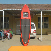 wave surfing wholesale clear bottom sup surf paddle board