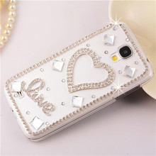 new diamond cover for samsung,Crown Heart Mirror Bling Phone Cases cover For Samsung galaxy S5