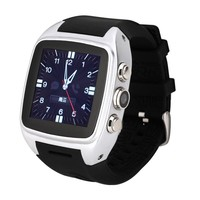 Latest Touch Screen Pedometer Mobile Phone Watch For Android Phone
