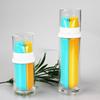20.40ml Dual Tube Lotion Bottles wholesale lotion bottle with pump plastic travel lotion bottles