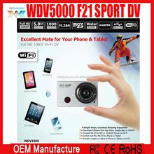 New F21 Wifi 1080P HD Digital Video Camera Mini DV Digital Camcorder Underwater Camera