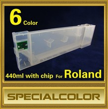 440ml Refillable Empty Ink Cartridge For Roland With Endless Chip