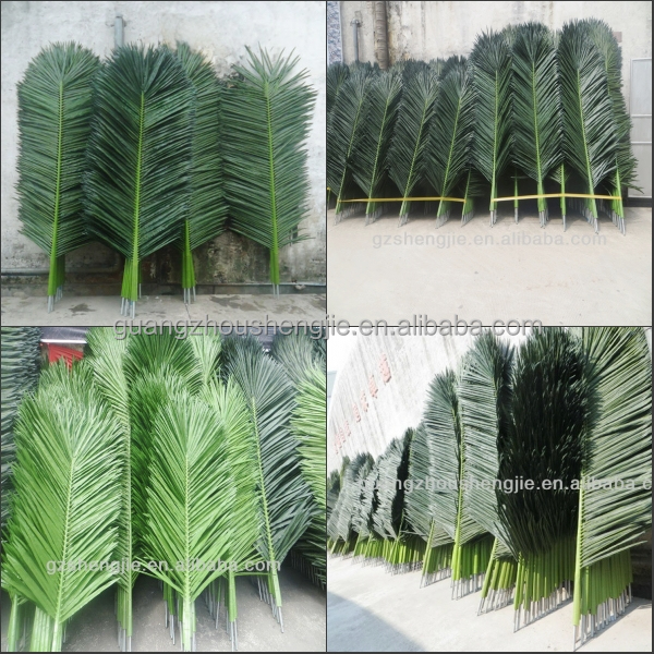 Sjh121718 artificial leafartificial palm tree leafwedding conew3g junglespirit Image collections