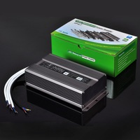 IP67 300W/250W/200W Waterproof LED Power Supply LED Driver for DC 12V or 24V LED Strips and Modules