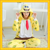adult cute SpongeBob onesie one piece jumpsuit pajama