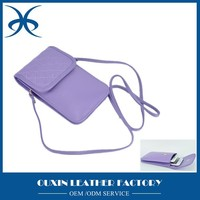 mini pu leather shoulder bags wholesale mobile phone bags for girls