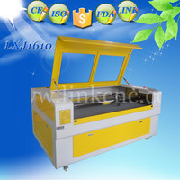 LINK Brand 1610 80w laser cutting machine discount price lxj1610 laser wood carving