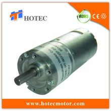high precision diameter 37mm gearbox reversible 6mm shaft 12v motor 80rpm dc geared motor