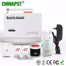 China hot sell Multi-functional wireless digital home security alarm system Built-in intelligent message PST-GA0604