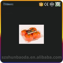 for fruit and vegetable packaging PET clamshell