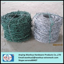 China manufacture low price hot galvanized barbed wire fence spools