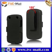 For Blackberry Curve 9320 Case,180 Degrees Rotary Slide Case for Blackberry Curve 9220 / 9320 with Swivel Belt Clip