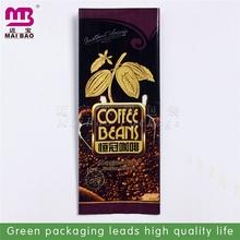 bright color printed black printed foil coffee bag compound coffee pouc