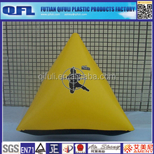 Outdoor Inflatable Buoy/Inflatable Triangle Buoy/Warning Line Buoy