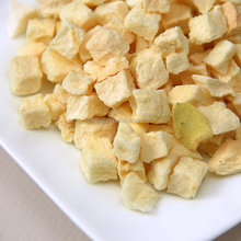 2015 OU CERTIFICATED DRIED FRUIT OF CHINESE FD FRUIT FREEZE DRIED APPLE DICE DRY FOOD