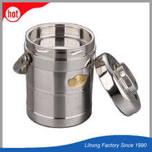 Factory direct sell stainless steel school lunch box thermal flask