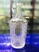 Exportación de extremo a extremo único europeo decorado botellas para licor 700 ml ( fábrica de vidrio )